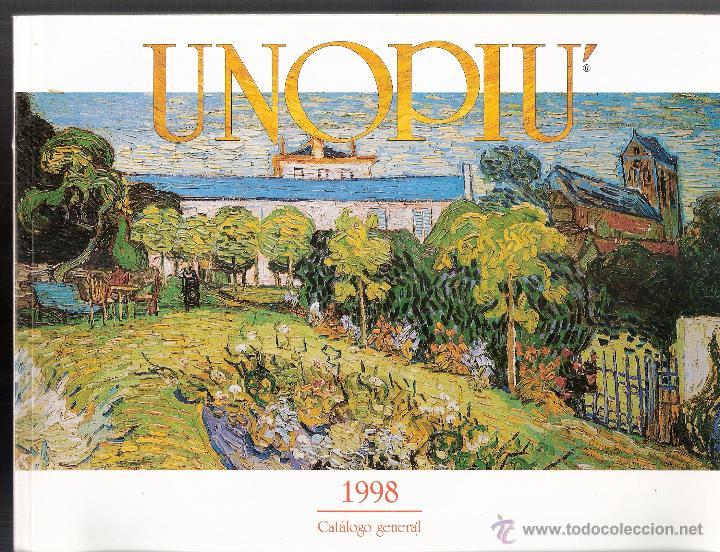 Unopiu 39 catalogo general 1998 expertos en la comprar for Catalogo unopiu