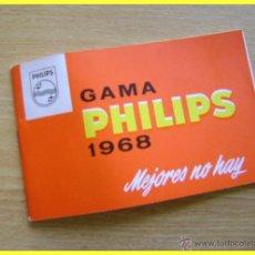 Catálogos publicitarios: CATÁLOGO PUBLICITARIO GAMA PHILIPS 1968, BUEN ESTADO, 42 PÁGINAS. Lote 43385372