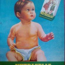 Catálogos publicitarios: ANTIGUA PUBLICIDAD ORIGINAL DE PRENSA NUTRICELIA INDUSTRIAS RIERA MARSA BARCELONA. Lote 43496875