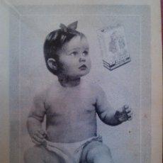 Catálogos publicitarios: ANTIGUA PUBLICIDAD ORIGINAL DE PRENSA NUTRICELIA INDUSTRIAS RIERA MARSA BARCELONA AÑOS 50. Lote 43497043
