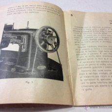 Catálogos publicitarios: ANTIGUO CATALOGO DE MAQUINA DE COSER NECCHI, ORIGINAL. EN ITALIANO, 48 PAGINAS. MIDE 17X12CM. Lote 44065822