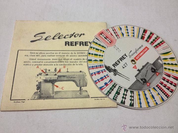 antigua rueda - selector de maquina de coser re - Comprar Catálogos ...