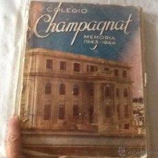 Catálogos publicitarios: 1943-44. COLEGIO CHAMPAGNAT MARISTAS.VÍBORA, HABANA. CUBA. CON MUCHA PUBLICIDAD ÉPOCA.. Lote 44116077