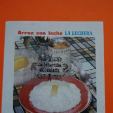 Catálogos publicitarios: PUBLICIDAD ORIGINAL - LECHE CONDENSADA LA LECHERA ARROZ CON LECHE 1959. Lote 44217427