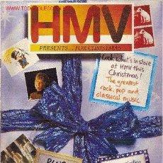 Catálogos publicitarios: CATÁLOGO DE PRODUCTOS Y DISCOS DE HMV. EDIMBURGO, ESCOCIA. NAVIDAD 1993. EN INGLÉS --REFM4E3. Lote 44231321