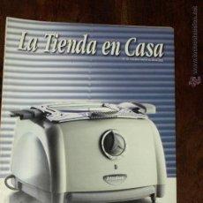 Catálogos publicitarios: CATALOGO LA TIENDA EN CASA. Nº 19. VALIDO HASTA 28-02-2002. Lote 183468673