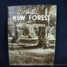 Catálogos publicitarios: CATÁLOGO FOLLETO EN INGLÉS PARQUE NATURAL THE NEW FOREST AND ITS PONIES 11,5 X9 CM . Lote 44879065