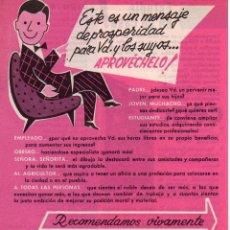 Catálogos publicitarios: PUBLICIDAD AÑOS 60 CEAC. Lote 45041669