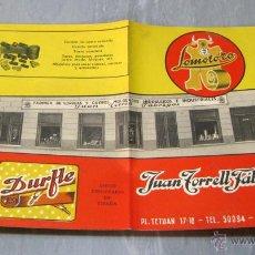 Catálogos publicitarios: CATALOGO JUAN TORRES FABREGAS CORREAS Y CUEROS MOLDEADOS-BARCELONA. Lote 45337209