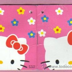 Catálogos publicitarios: MINI AGENDA CALENDARIO PARA ANOTACIONES DE HELLO KITTY 2004. Lote 45359666