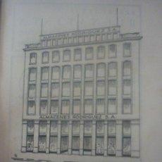 Catálogos publicitarios: HOJA PUBLICIDAD AÑOS 40. ALMACENES RODRIGUES S.A.MADRID Y BARCELONA. Lote 45452761