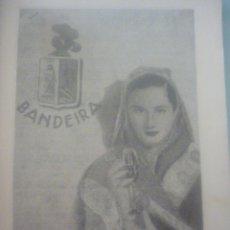 Catálogos publicitarios: HOJA PUBLICIDAD AÑOS 40. VINHOS BANDEIRA. Lote 45452860