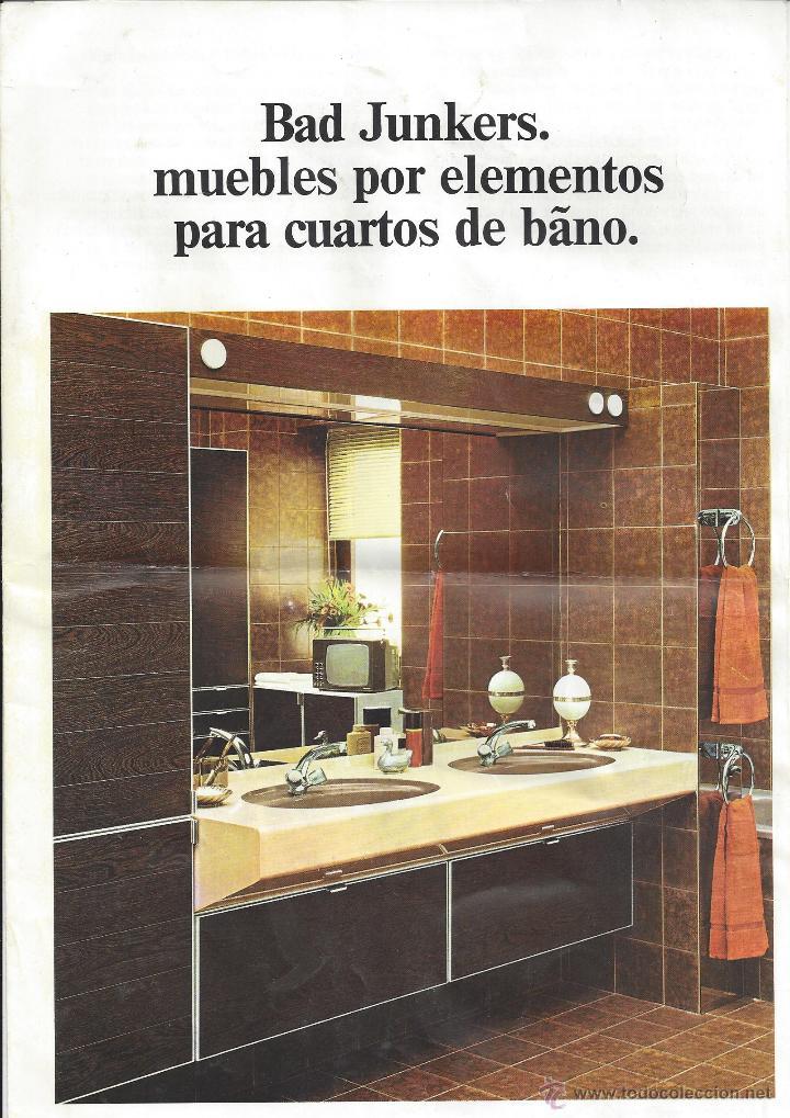 bad junkers. catálogo cuartos de baño. años 70 - Buy Old Advertising ...