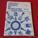 Catálogos publicitarios: CATALOGO GENERAL DE NUMERACION MARCAJES INDUSTRIALES 90-91 DIGITO. Lote 45591122