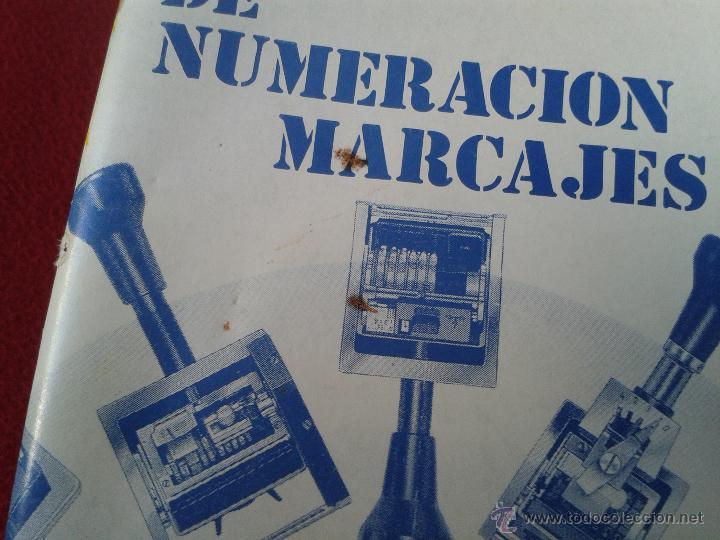 Catálogos publicitarios: CATALOGO GENERAL DE NUMERACION MARCAJES INDUSTRIALES 90-91 DIGITO - Foto 2 - 45591122