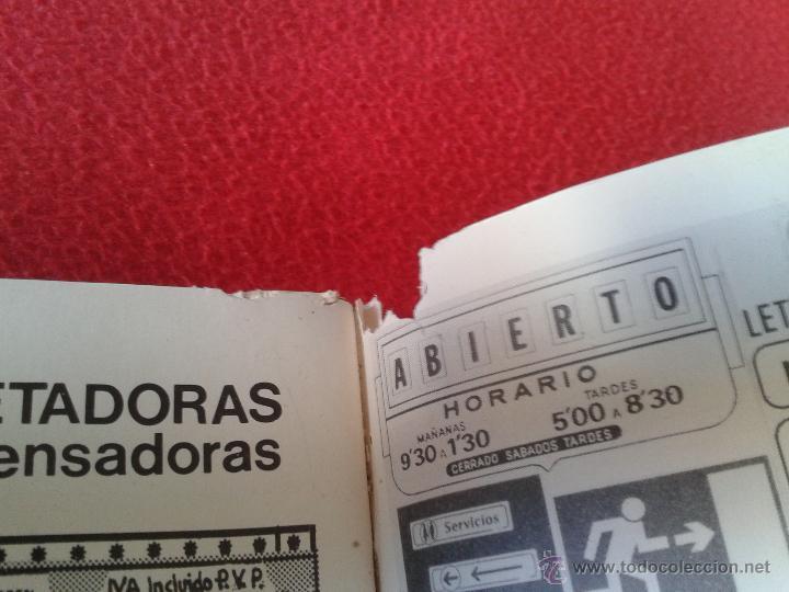Catálogos publicitarios: CATALOGO GENERAL DE NUMERACION MARCAJES INDUSTRIALES 90-91 DIGITO - Foto 5 - 45591122