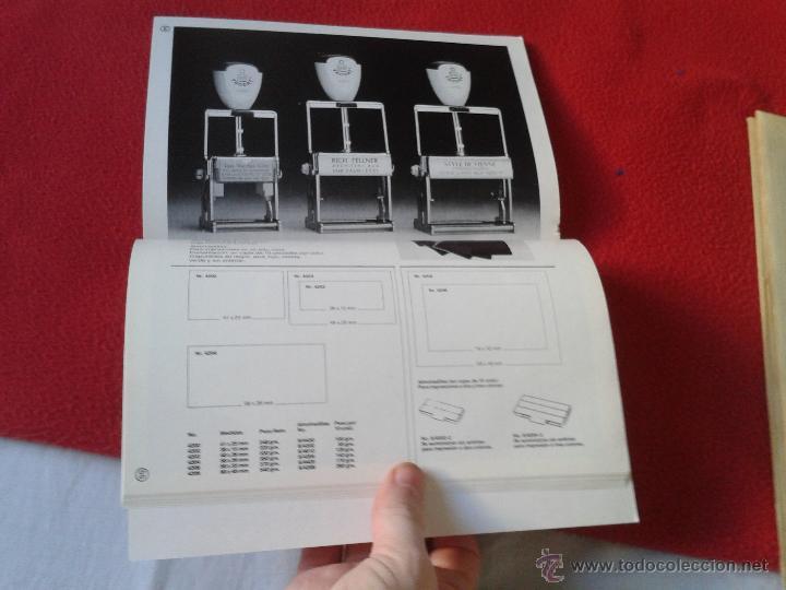 Catálogos publicitarios: CATALOGO GENERAL DE NUMERACION MARCAJES INDUSTRIALES 90-91 DIGITO - Foto 6 - 45591122