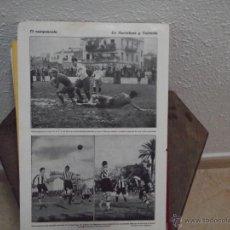 Catálogos publicitarios: HOJA DE REVISTA AÑOS 30 ASPECTO DEL ESCENARIO DE LA SOCIEDAD MUSICAL BENIMACLET Y TINTES IBERIA. Lote 45593118