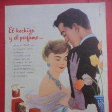 Catálogos publicitarios: EL HECHIZO Y EL PERFUME. MALMAISON ANJOU. Lote 45757771