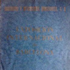 Catálogos publicitarios: EXPOSICION INTERNACIONAL DE BARCELONA 1929 - ASCENSORES Y APLICACIONES INDUSTRIALES SA. Lote 45797729