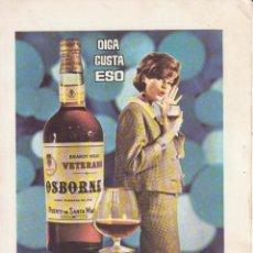 Catálogos publicitarios: ANTIGUO ANUNCIO PUBLICIDAD ORIGINAL DE PRENSA VETERANO OSBORNE 1964 . Lote 45900493