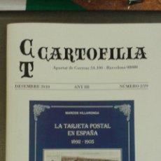 Catalogues publicitaires: CT CARTOFILIA NÚMERO 2: GRUSS AUS BARCELONA, LOLA ANGLADA, CLAVEROL ,ETC. Lote 46587709