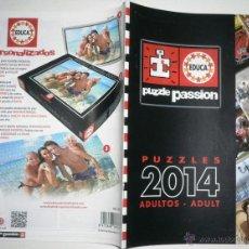 Catálogos publicitarios: CATALOGO PUZZLE PASSION 2014 ADULTOS 24 PAGINAS MIDE 30,8CM X 15CM. Lote 46953537