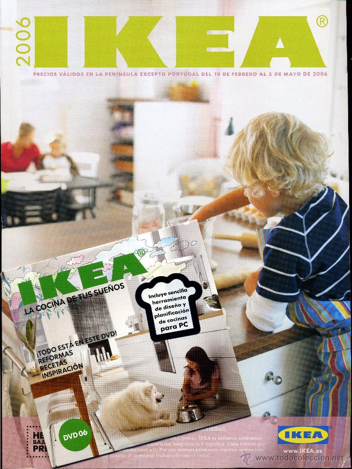 Catalogo ikea 2006 cocinas dvd mobiliario comprar for Catalogo ikea on line