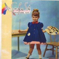 Catálogos publicitarios: HOJA PUBLICITARIA IMPRENTA GRAFOS - BARCELONA. AÑOS 60. Lote 47682044