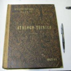 Catálogos publicitarios: CATALOGO IMPORTACIONES INDUSTRIALES 1942-1943, 438 PAG.. Lote 47764693