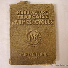 Catálogos publicitarios - MANUFACTURE FRANCAISE D´ARMES ET CYCLES SAINT ETIENNE 1934 - 48039426