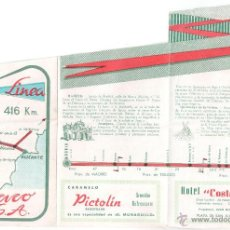 Catálogos publicitarios: FOLLETO PUBLICITARIO AUTOBUSES CHACO S.A. . Lote 48082887