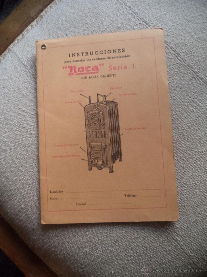 Catalogo instruciones calderas calefacci n roca comprar for Catalogo roca calefaccion