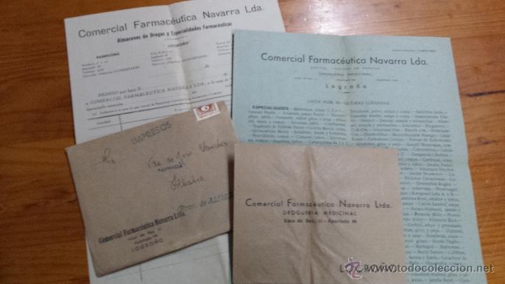 COMERCIAL FARMACEUTICA NAVARRA LTDA. LOGROÑO FARMACIA (Coleccionismo - Catálogos Publicitarios)