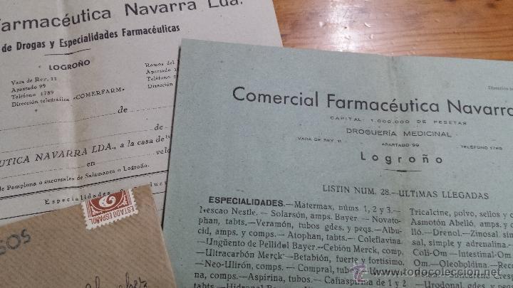 Catálogos publicitarios: COMERCIAL FARMACEUTICA NAVARRA LTDA. LOGROÑO FARMACIA - Foto 2 - 48543009