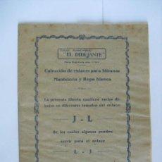Catálogos publicitarios: CATALOGO DIBUJO PLANCHABLE,24 PAGINAS, MIDE 20X15. Lote 48605833