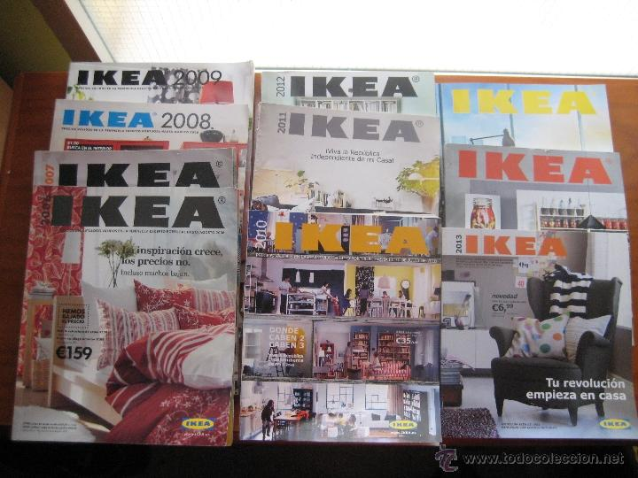 Catalogo Ikea Lote De 10 Catalogos2006 A 2015 Comprar Catalogos - Catalogos-ikea-2015