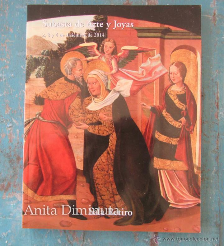 catalogo sala retiro subasta de arte y joyas diciembre 2014 relojes pintura - Salaretiro