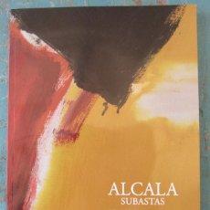 Catálogos publicitarios: CATALOGO ALCALA SUBASTAS - SUBASTA DE ARTE Y JOYAS - DICIEMBRE 2014 - RELOJES, PINTURA, ARTES DECORA. Lote 48939832