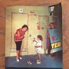 Catálogos publicitarios: DÍPTICO LAVADORAS TER. Lote 207056960
