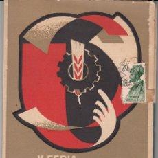 Catálogos publicitarios: PROGRAMA V FERIA OFICIAL DE MUESTRAS DE REUS 1963. Lote 49082652