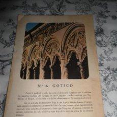 Catálogos publicitarios: ANTIGUA PUBLICIDAD FARMACIA NEUROMADE FUERTE - NUMERO 16 GOTICO - COLEGIO SAN GREGORIO - VALLADOLID. Lote 49109221