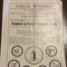 Catálogos publicitarios: ANTIGUO CATALOGO APARATOS DE SOLDAR Y COMPLEMENTOS CARLOS WOESSNER BARCELONA. ILUSTRACIONES Y PRECIO. Lote 49120001