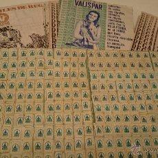Catálogos publicitarios: 13 CARTILLAS CUPON VALISPAR COMPLETAS DE CUPONES(TAMBIEN SUELTAS). Lote 49175147