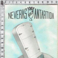 Catálogos publicitarios: CATALOGO NEVERAS DE HIELO LA ANTARTIDA.. Lote 49187884