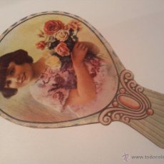 Catálogos publicitarios: ABANICO PAY PAY DE CARTÓN, PUBLICIDAD CAFE PAMPA .ROMAN MARIMON REUS. Lote 49286349