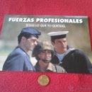 Catálogos publicitarios: ANTIGUO TRIPTICO FOLLETO CATALOGO FUERZAS ARMADAS PROFESIONALES MINISTERIO DE DEFENSA 1993 MILITAR. Lote 49637494