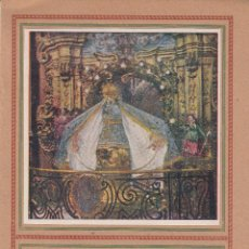 Catálogos publicitarios: PROGRAMA FIESTAS RECONCILIACIÓN SANTUARIO NTRA.SRA. MISERICORDIA 1941. Lote 49780694
