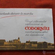 Catálogos publicitarios: CATALOGO PUBLICIDAD CODORNIU, SAN SADURNI DE NOYA 1962. Lote 49783411