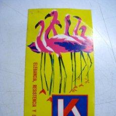 Catálogos publicitarios - KETTAL - MUEBLES DE ALUMINIO - DIPTICO PUBLICITARIO - 49827466